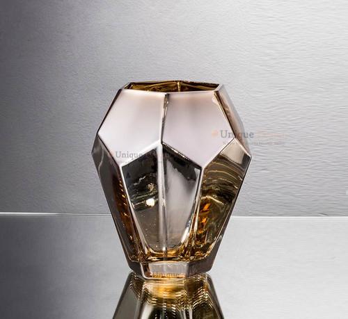 Glass Vase 57253 - Silver Glass