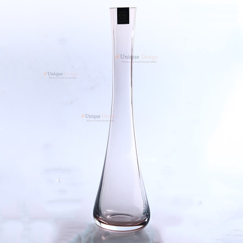 Glass Vase 180PP - Handmade center piece - Clear Glass