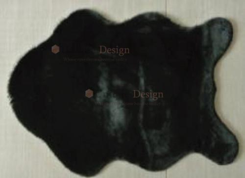 Antila fur shaggy in black