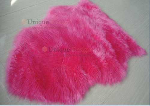 Puppis fur shaggy in pink