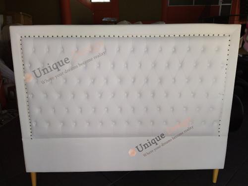 Kind Size Headboard - Genuine CN Leather