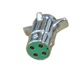 SpaDolly 4 Pole Round Connector Hitch Side