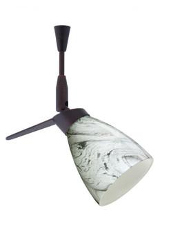 Besa Spotlight Andi Bronze Marble Grigio 1x35W Halogen Mr11 (127|SP-5044MG-BR)