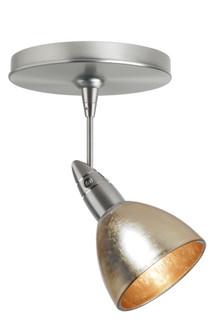 Besa Divi Spotlight 1Sp Gold Foil Satin Nickel 1x9W LED Mr16 (127|1SP-1758GF-LED-SN)