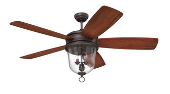 "60"" Ceiling Fan w/ Blades & Light Kit (20|FB60OBG5)"
