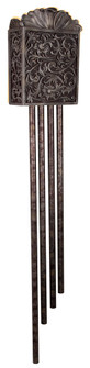 Carved Scroll Westminster w/ 4 Long Tubes (20|CA4-RC)