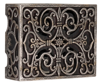 Carved Scroll Box (20|CAB-RC)
