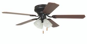 "52"" Hugger Ceiling Fan w/Blades & 4 Light Kit (20|BRC52ORB5C)"