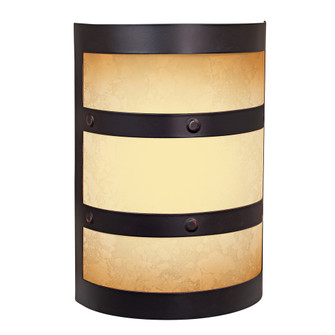 LED Contemporary Cylinder w/Scavo Glass (20|ICH1415-OBG)