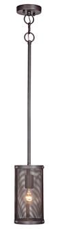 1 Light Mini Pendant (20 37191-MBKG)