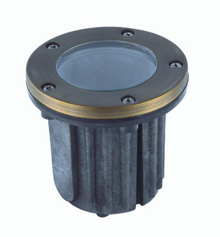 Well Light D5 H5.5Antique Brassclear Glassmr16 Halogen 35W/Led Gu5.3(Light Source Not Included) (758 W121)