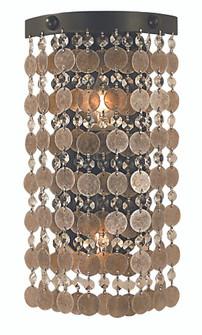 2-Light Mahogany Bronze Naomi Sconce (84 2481 MB)