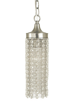 1-Light Brushed Nickel Penelope Pendant (84 2951 BN)