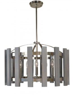 5-Light Arcadia Dining Chandelier (84|5125 PN)
