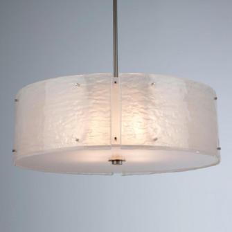 Textured Glass Chandelier-24 (1289 CHB0044-24-BS-FR-001-E2)