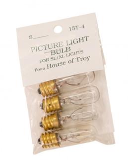 Incandescent Candelabra Bulb (15T4-BAG)