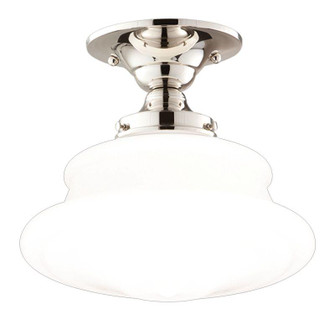 1 LIGHT SEMI FLUSH (3412F-PN)