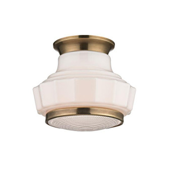1 LIGHT SEMI FLUSH (3809F-AGB)
