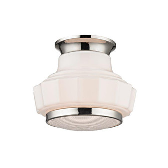 1 LIGHT SEMI FLUSH (3809F-PN)
