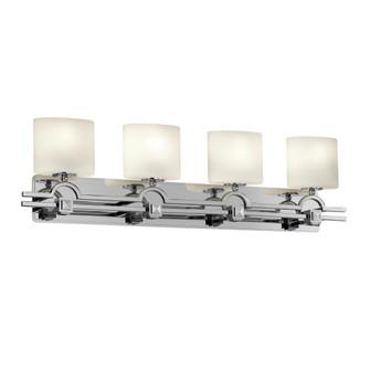 Argyle 4-Light Bath Bar (FSN-8504-60-OPAL-CROM)