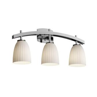 Archway 3-Light Bath Bar (FSN-8593-28-WEVE-NCKL)