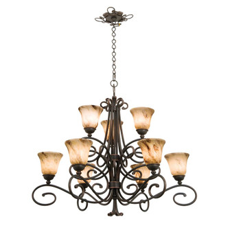 Amelie 9 Light Chandelier (5535TO/1426)