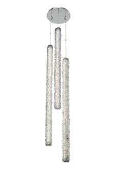 Lina 3 Column LED Foyer (1252|035551-010-FR001)