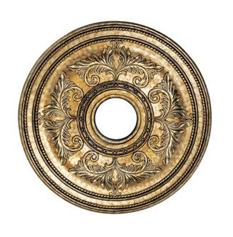 Vintage Gold Leaf Ceiling Medallion (108|8200-65)