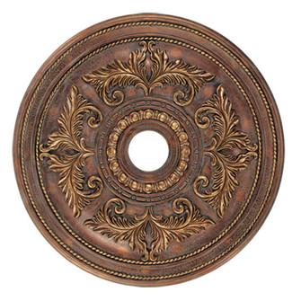 Crackled Greek Bronze Ceiling Medallion (108|8210-30)