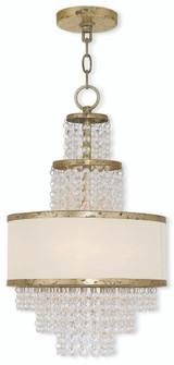 3 Light Winter Gold Mini Chandelier (108|50783-28)
