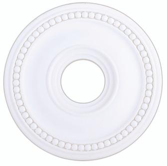White Ceiling Medallion (108|82073-03)