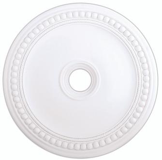 White Ceiling Medallion (108|82076-03)
