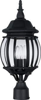 Crown Hill-Outdoor Pole/Post Mount (1035BK)