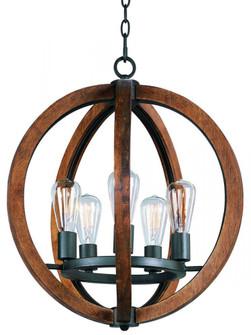 Bodega Bay-Single-Tier Chandelier (20917APAR)
