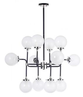 Atom 12-Light Pendant Lamp (19|24727WTBKPN)
