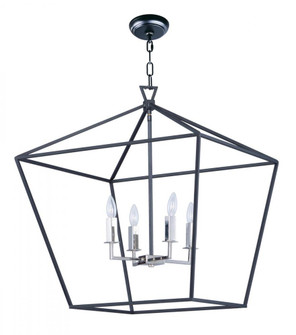 Abode-Single-Tier Chandelier (25155TXBPN)