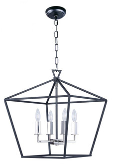 Abode-Single-Tier Chandelier (25156TXBPN)