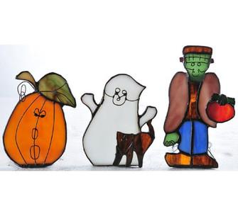 4.75'' High Halloween 3 Pieces Tea Light Set (96|67657)