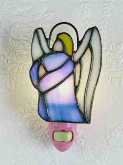 4 inches H Praying Angels 6 Pieces Night Light (20828)