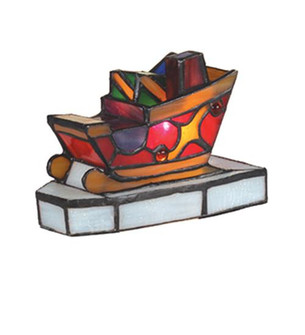 4.5''H Sleigh with Presents Accent Lamp (96|82156)