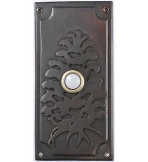 3''W X 6''H Spruce Pine Door Bell Cover (96|79966)