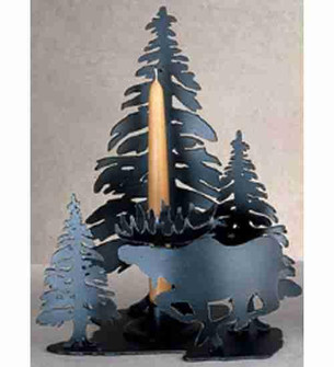 Moose on the Loose Candle Holder image