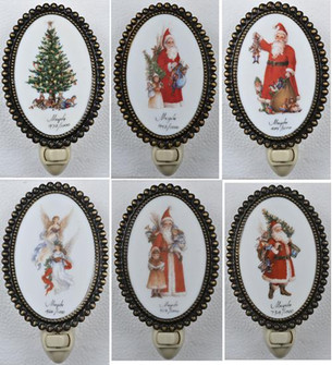 6 inches H Christmas 12 Pieces Night Light (18641)