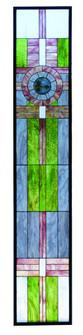 """15.25""""W X 83.75""""H Maxfield Parrish Custom Stained Glass Window (96 72445)"""