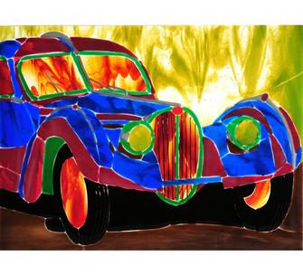 "18""W X 13.75""H Metro Fusion Bugatti Atlantic Window image"