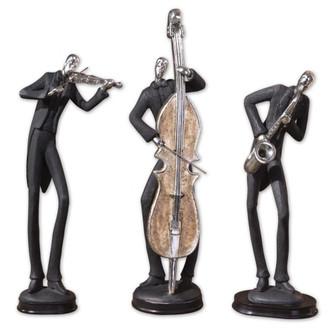 Uttermost Musicians Decorative Figurines, Set/3 (85|19061)