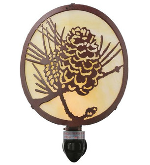 5.5 inches W X 8 inches H Winter Pine Night Light (111477)