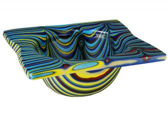15''W Metro Fusion Tropical Glass Bowl (96|113016)