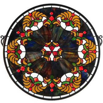 18''W X 18''H Middleton Stained Glass Window (96|127106)