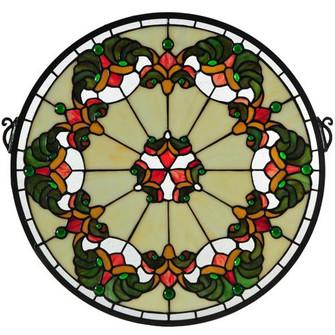 18''W X 18''H Middleton Stained Glass Window (96|127115)